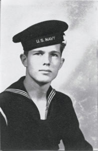 "image of SMITH ""Smitty""McLAIN in navy uniform"