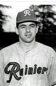 image of Ron Foisy in basball uniform